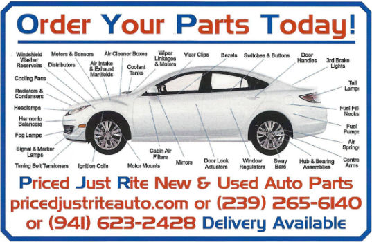 Aftermarket Auto Parts Fort Myers and surrounding